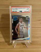 2017-18 Panini Donruss Optic #199 Lonzo Ball Rookie PSA 9 MINT Lakers (9098)