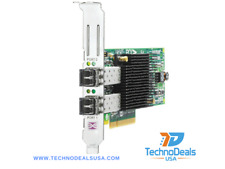 HP AJ763A Storageworks 82E 8Gb Dual Channel Pcie X8 Fibre Channel Host Bus Adapt