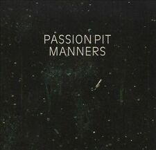 Manners by Passion Pit (CD, May-2009, Columbia/French Kiss)