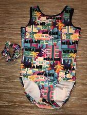 Plum Practicewear Gymnastics Leotard Miami Classic Crossback Size Adult Xs