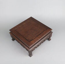 stand display Miniature table brown Ji-chi wood rosewood new square pedestal #3