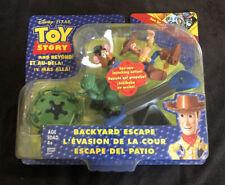 Disney Toy Story And Beyond Backyard Escape Figure Set Woody Rex