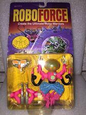 Vintage Rare Robo Force Spidoid Robo Warriors New Galoob 1992 Very Nice Shape