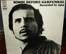 "PAUL SIMON ""Simon Before Garfunkel"" 1970's Japan ONLY Lp w/oobi MONO PRESSING"