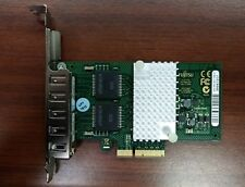 Fujitsu D2745-A11 Quad Port, Gigabit, PCI-e Ethernet Card