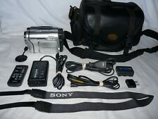 Sony PAL CCD-TRV238E PAL Video8 HI8 8mm Camcorder VCR Player Video Transfer