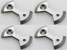 J&L Titanium/Ti Pedal Plate/Bow tie* 4pcs only fit SpeedPlay X Series:X1,X2,X5