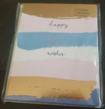 Pier 1 Imports 'HAPPY EASTER WISHES' Invitation/Greeting Cards & Envelopes 5 Ct.