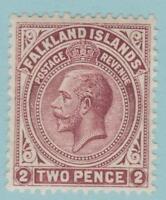 Falkland Islands 32 Mint Hinged OG * HR  - No Faults! Very Fine