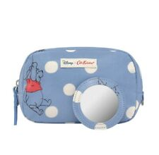 CATH KIDSTON WINNIE THE POOH BALLOON BUTTON SPOT MAKE-UP CASE WITH MIRROR - NEW
