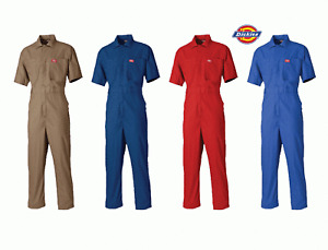 Boilersuit Dickies Lightweight Short Sleeved Cotton Overall Coverall WD2299