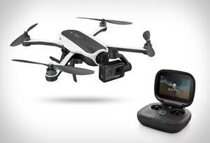 GoPro Karma Drone Combo w/ HERO 5 Camera Quadcopter Black/White Great condition