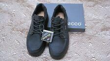 NIB Men's ECCO Rugged  Joiner GoreTex Mens Low Boots Black size EU 47(US13-13.5)