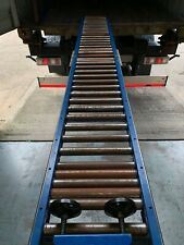15 Metre Metal Conveyor Gravity Rollers for Container Unloading and Loading