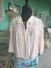 1940's Pink Bed Jacket