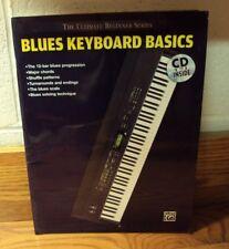 The Ultimate Beginner BLUES KEYBOARD BASICS Cavalier & Brewer 2007 Alfred PB CD