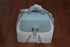 NWT Michael Kors $398 Romy Medium Pebble Leather Backpack Handbag Celedon/Silver