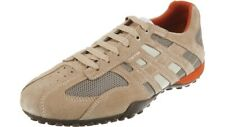 Geox Respira Uomo Snake K Herren Sneakers Halbschuhe U4207K Beige Dk Orange