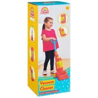 Play & Pretend Vacuum Hoover Cleaner Toy Cleaning Kids Playset