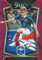 2015 Panini Select Soccer Base Common Red Parallel Variation #d /149 - (1-50)