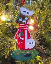 Golf Bag & Irons PGA Sports Ornament Personalized Christmas Tree Ornaments