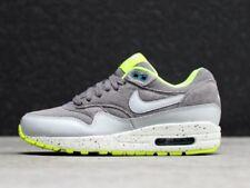 Nike Air Max 1 Cool Grey Wolf Grey Volt Women's Sz 10.5 Men's Sz 9 Running Shoes