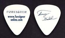 Foreigner Tommy Gimbil,  USED Guitar Pick , concert memorabilia,