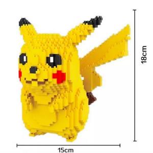 Pikachu Pokemon Magic blocks 1650 pieces - UK Stock