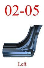 02 05 Ford Explorer Left Dog Leg Repair Panel, OEM Type, Extends Into Jams!