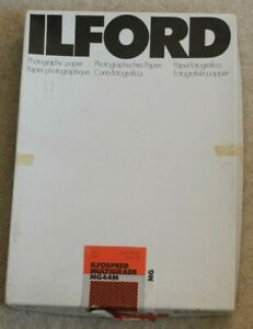 ILFORD Ilfospeed MG44M Pearl Medium Weight Photographic Paper 8x10  ** VINTAGE