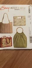 McCALL'S 4904 HAND BAGS and TOTES