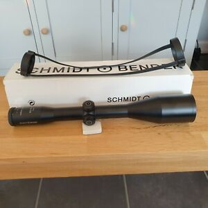 Schmidt and Bender 8 x 56 A7 reticle rifle scope used