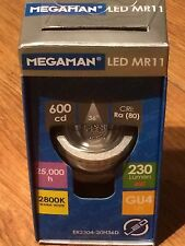 Megaman LED 4W GU4 MR11 12V 2800K 36Deg