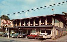 Tommys Restaurant Gatalinburg Tennessee   Restaurant Postcard