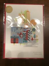 2016 Starbucks USA DALLAS CITY Holiday Edition Gift Card Envelope NoVal RARE