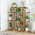 Attractive Large Plant Ladder Shelf Flower Pot Bonsai Planter Stand Display Rack