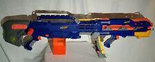 NERF N-Strike Blue Longshot CS-6 Front Dart Blaster Attachment 12 Darts Clip
