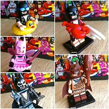 71017 THE LEGO BATMAN MOVIE Lobster Glam Fairy Caveman Vacation 5Minifigs SEALED