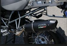 BMW R1200GS Escape FURORE NERO 2010-12 DOBLE LEVA De GPR Tubo Italia