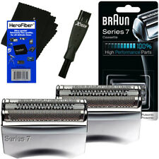 Braun 70S Series 7 Pulsonic Foil & Cutter Replacement Head + Brush (2 pack)