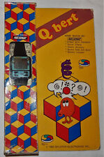*VINTAGE QBERT/Q-BERT LCD HANDHELD GAME WRIST WATCH BY NELSONIC IN BOX/BOXED/NOS