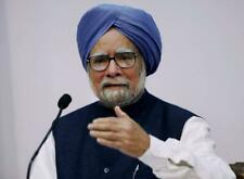 MANMOHAN SINGH GLOSSY POSTER PICTURE PHOTO PRINT indian prime minister 3882