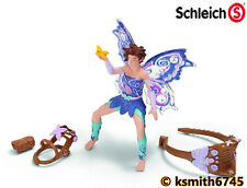 Schleich LIMEYA Bayala fantasy girl fairy plastic toy elf RIDING SET * NEW 💥