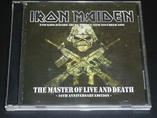 IRON MAIDEN THE MASTER OF LIVE AND DEATH SWEDEN 2006 Motley Crue Ozzy Japan 2CD