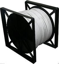 RG-59/U Siamese cable, Professional Grade, 500FT white