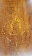 Walnut and Amboyna Inlaid Panel