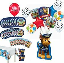Paw Patrol Party Supplies Birthday 8 Guest Table Decorations and Chase Balloo.