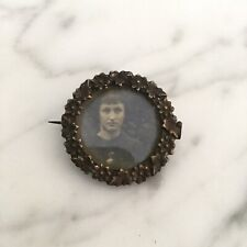 Broche Ancienne Porte Photo 1900 Antique French Brooch