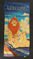 Vintage Disney The Lion King Beach Towel 1993 Rare Franco Brazil