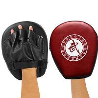 Boxing Mitt Training Punch Pad Target Focus Karate MMA Muay Thai Kick_